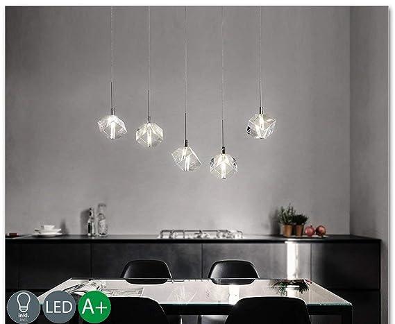 Modern techo K9 Cristal Geometría Diseño colgante Ampe ...