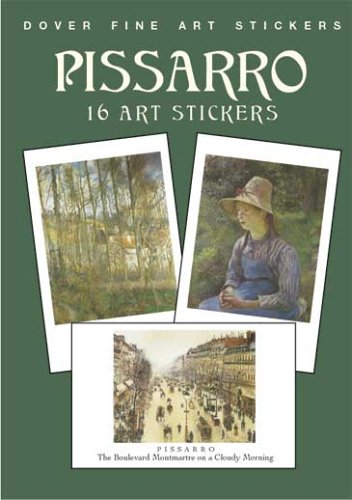 Pissarro: 16 Art Stickers (Dover Fine Art Stickers) ebook