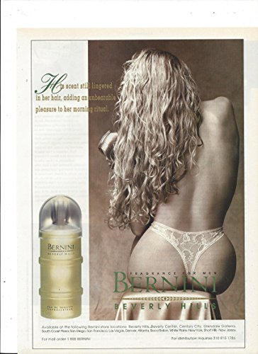 print-ad-for-1995-bernini-for-men-lady-in-thong-scene
