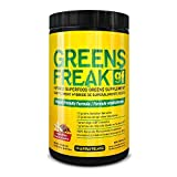 PharmaFreak Greens Freak Vanilla Chai Powder - 30 Servings - Loaded With Top