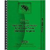 New Oliver (Hart Parr) 24-12 Tractor Parts Manual