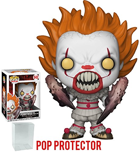 Vinyl Gremlins Figure (Funko Pop! Movies: Stephen King's It - Pennywise with Spider Legs (Crab Legs) Vinyl Figure (Bundled with Pop Box Protector Case))