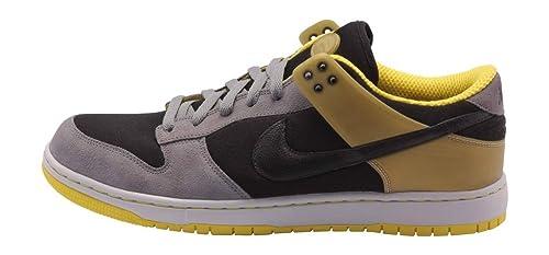 buy popular 128de ddccd Nike Mens Air Zoom Dunkesto Black Yellow Grey 315207-001 13