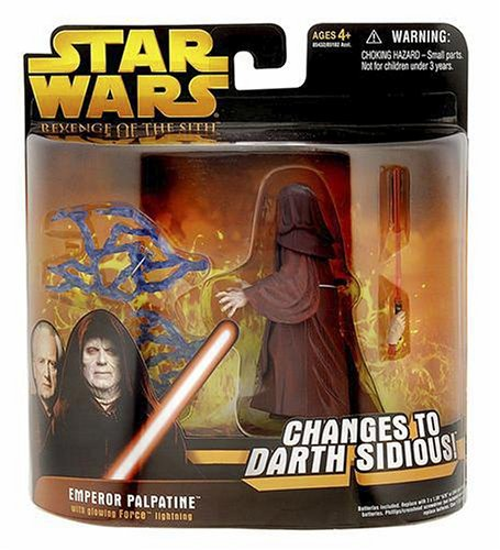 Amazon.com: Star Wars E3 DF04 EMPEROR PALPATINE: Toys & Games