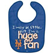 WinCraft MLB New York Mets WCRA1977214 All Pro Baby Bib
