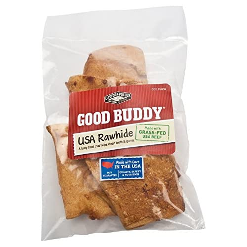 Good Buddy Rawhide Chips, 4 Ounce -- 8 per case. low-cost