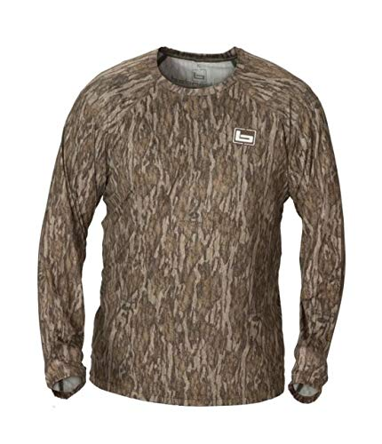 Banded Tech Stalker Mock Shirt-Bottomland-XL by Banded