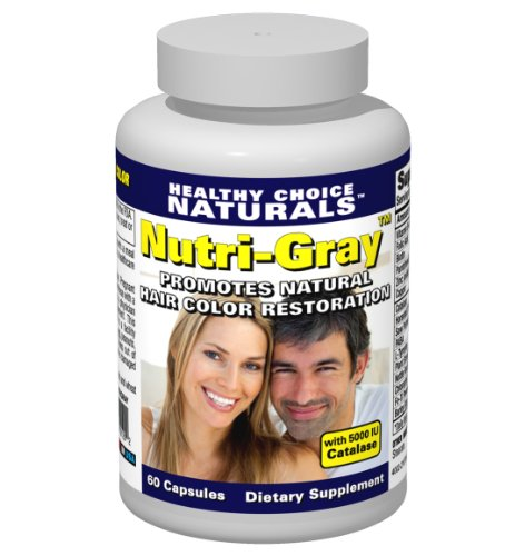 Nutri gray Restoration Catalase helps Naturally Capsules product image