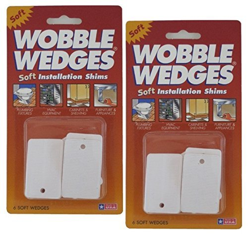 Plastic Wobble Wedges Leveling 12 Pieces product image