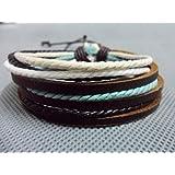 Jirong Cordes bracelet en cuir bijoux bracelet bracelet bracelet des femmes des hommes de bracelet SL2595