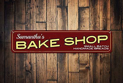 qidushop Cartel de Bake Shop, Personalizado, pequeño, Hecho ...