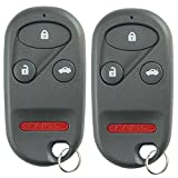2002 honda accord remote - KeylessOption Keyless Entry Remote Control Car Key Fob Replacement for KOBUTAH2T (Pack of 2)