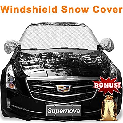 Supernova Car Windshield and Side Mirror Cover for Snow and Ice Guard & Sun Shade Protector