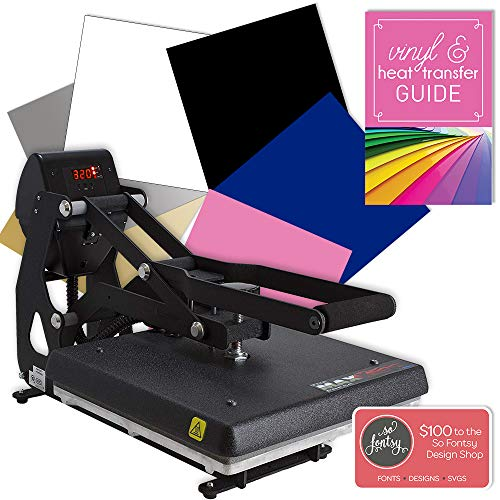 "Hotronix MAXX Clam Heat Press 15""x15"" Bundle - with Warranty & U.S. Support"