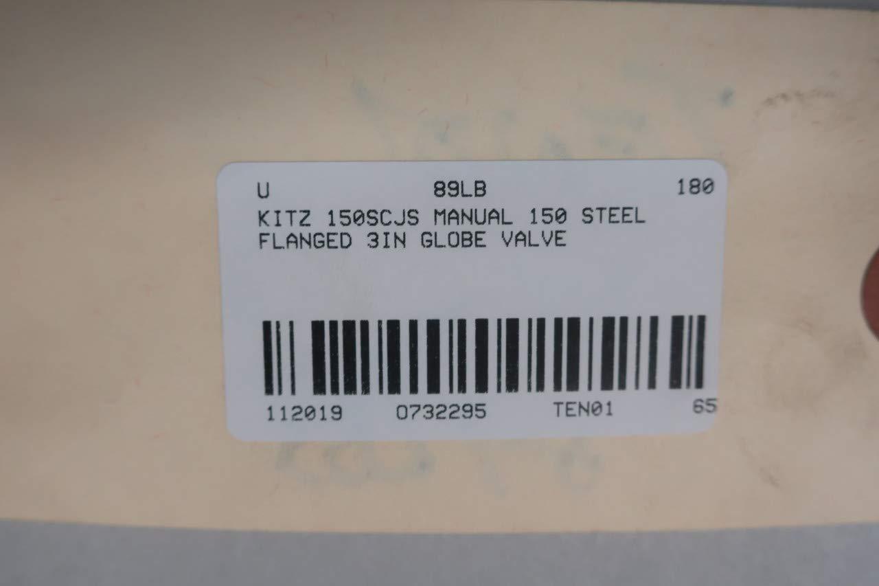 KITZ 150SCJS Manual Steel FLANGED Globe Valve 150 3IN