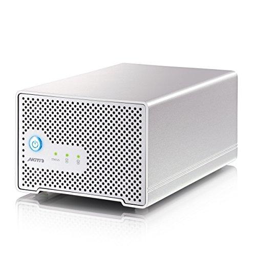 AKiTiO NEU2-TIS-AKT3UH | Neutrino Thunder Duo Thunderbolt 4TB HDD