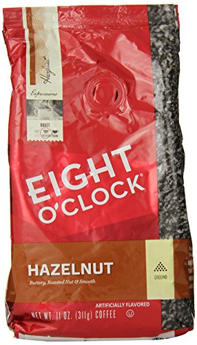 Eight O'clock Hazelnut Ground Coffee [Pack of 2]