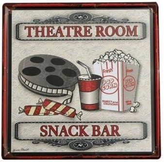 Vintage Metal Tin Sign Plaque Poster Bar Pub Kitchen Decor WONDERFUL TIME