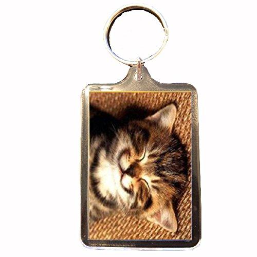 Cat Smile Keyring