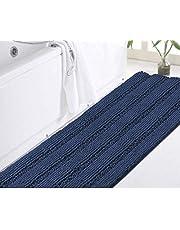 DomoWin Tappeto da Bagno Tappetino Bagno Antiscivolo Materiale in Microfibra, Morbido ed Elastico Lavabile in Lavatrice Tappeto Bagno Camera