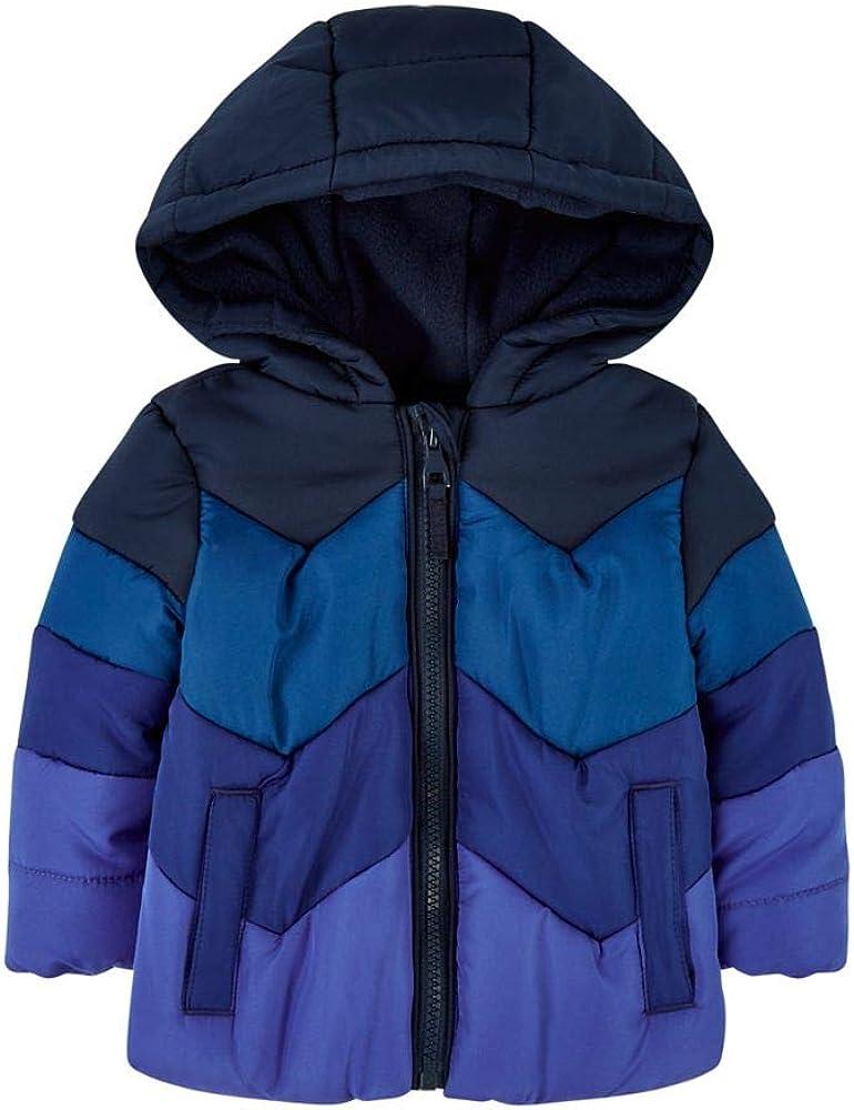 Mothercare Baby Mb Epp Jacket Blue Colourblock