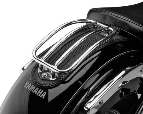 Tubular Solo Rack - 07-13 YAMAHA XVS13CT: Show Chrome Solo Rack - Tubular