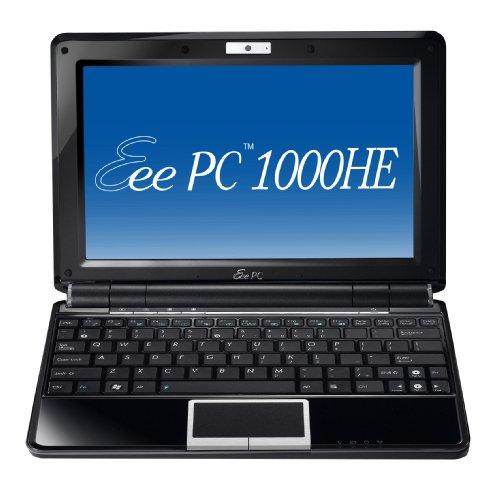 ASUS Eee PC 1000HE 10.1-Inch Black Netbook