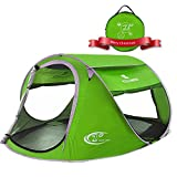 Pop Up Tent -Automatic and Instant Setup-Water...