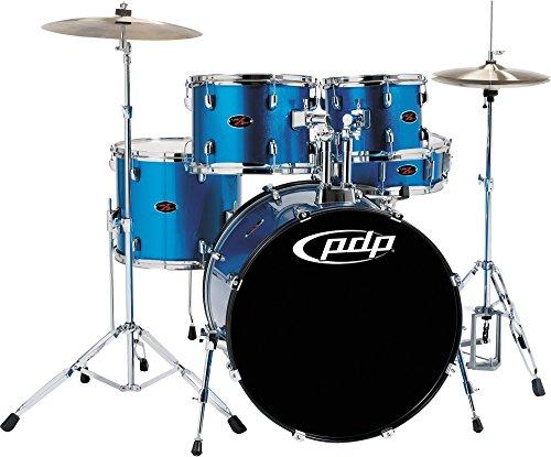 UPC 886830529382, PDP Z5 5-Piece Drum Set Aqua Blue