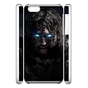 iphone 5c Cell Phone Case 3D Middle earth Shadow Of Mordor gift zhm004-9256005