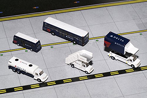 GEMINI200 G2DAL720 GEMINI200 DELTA GROUND SERVICE EQUIPMENT TRUCKS 1/200 Scale