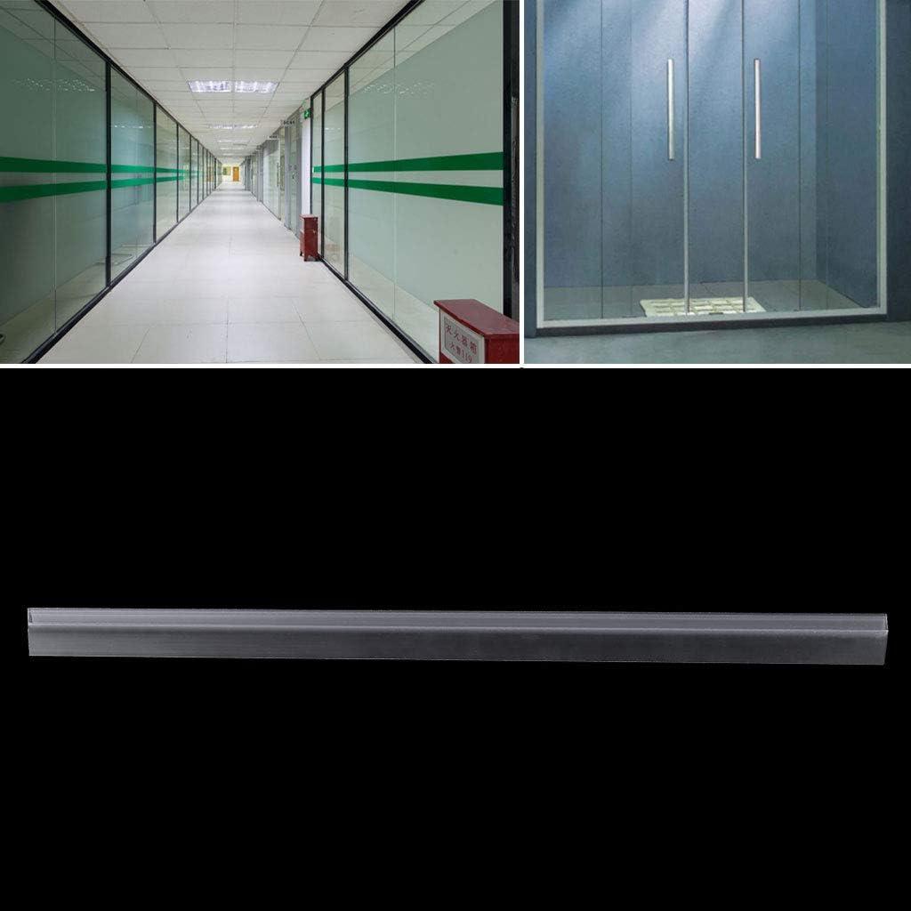 MB-LANHUA PVC Shower Screen Door Seal Strip Lining Water Stopper Bath Glass Seal Strip