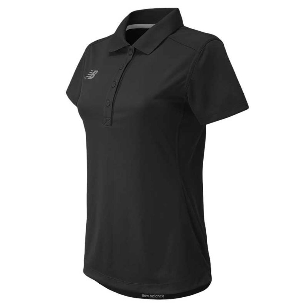 新しいバランスの女性のパフォーマンスTech Poloシャツ B01MYZIXN9 Small|チーム ブラック(Team Black) チーム ブラック(Team Black) Small