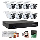 Best GW Security Inc Dvr Cameras - GW Security 8-Channel HD-TVI 1080P Complete Security System Review