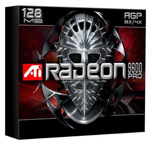 - 128MB ATI Radeon 9600Pro DDR DVI VGA TV Out AGP 8x 100-437002 100437002