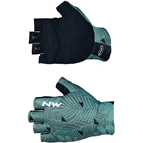 元のキルト栄養NORTHWAVE(ノースウェーブ)SWITCH LINE SHORT GLOVE(FLOREAL FOREST) M?18