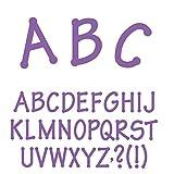 Ellison Lollipop Capital Letters Sure Cut Die Set