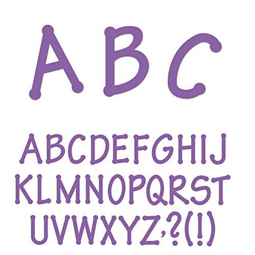 Ellison Lollipop Capital Letters Sure Cut Die Set by Ellison