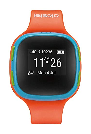 KIDSWATCH ORANGE BLUE ACCS 2G GPS LOCATOR IPS 65 IN: Amazon ...
