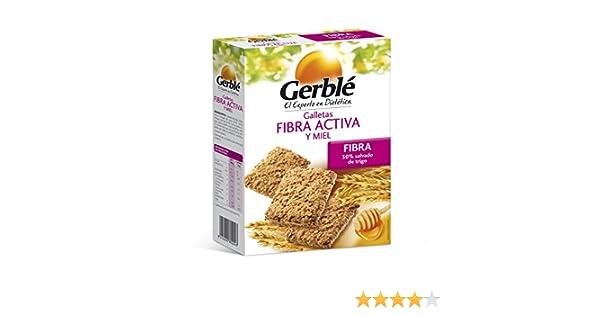 Galletas fibra activa y miel gerblé 400 g: Amazon.es: Alimentación y bebidas