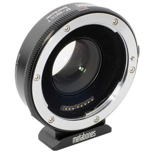 Metabones Canon EF Lens to Blackmagic 2.5K Cinema Camera T Speed Booster Adapter, Micro 4/3 Mount, Black Matte by Metabones