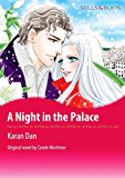 A NIGHT IN THE PALACE (Mills & Boon comics)