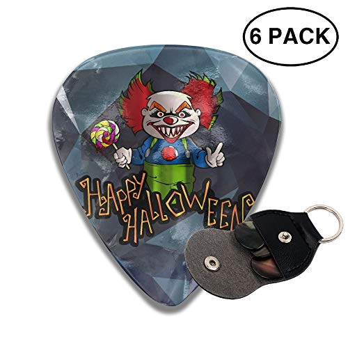 Halloween Clown 351 Shape Classic Celluloid Guitar Picks