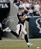 Andre Johnson Signed Houston Texans 16x20 Shoulder Catch Photo- JSA W Auth White