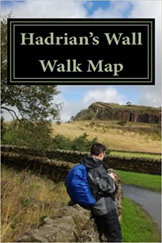 Hadrian's Wall Walk Map