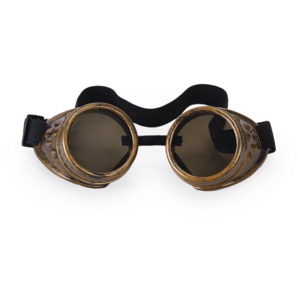 SODIAL(R) Gafas De Estilo Steampunk Soldadura Ciberneticos Para Cosplay SODIAL (R)