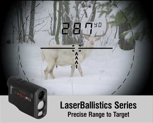 51SJG7xyK5L - ATN Laser Ballistics 1000 Smart Laser Rangefinder w/Bluetooth, device works with Mil and MOA scopes using ATN Ballistic Calculator App