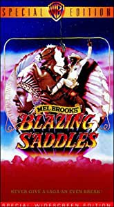 Blazing Saddles (Special Widescreen Edition) [VHS]