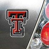 Football Fanatics NCAA Texas Tech Red Raiders Team Logo Color Chrome Auto Emblem