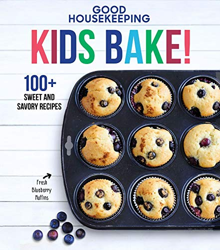 Book cover from Good Housekeeping Kids Bake!: 100+ Sweet and Savory Recipes (Good Housekeeping Kids Cookbooks) by Good Housekeeping